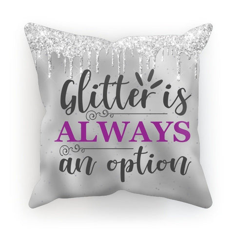 Glittery Design Cushion - Treat Haven