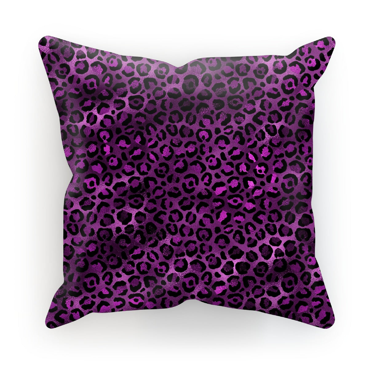 Elegant Purple Leopard Pattern Print Cushion - Treat Haven