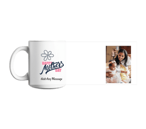Add A Photo And Texts - Mugs For Mother's Day - With 3D Preview
