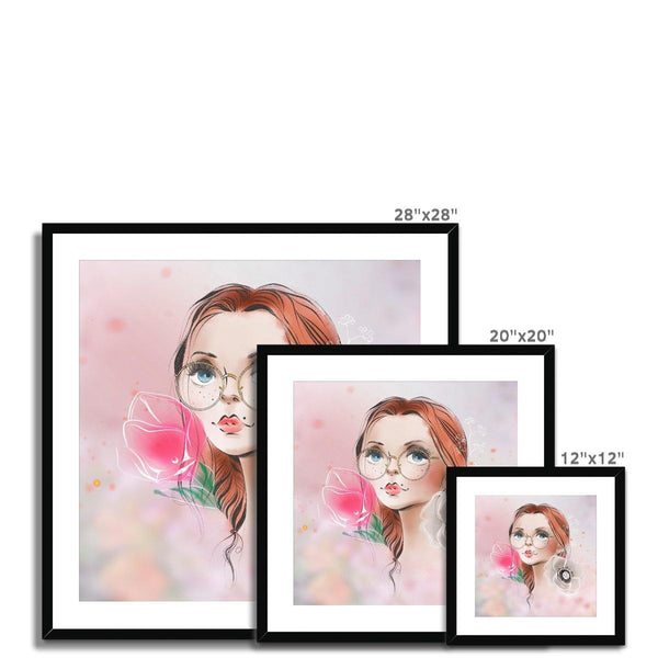 Beauty Portrait C Framed & Mounted Print - Treat Haven