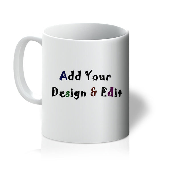 Personalise your Mug - Add Your Image or Our Design - With 3D Preview - Treat Haven