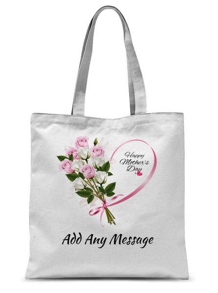 Happy Mother's Day - Add Any Message Sublimation Tote Bag (2 to 3 words) - Treat Haven