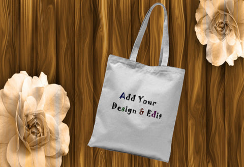 Personalise This Tote Bag - Sublimation Tote Bag (Add Design To Front & Back) - Treat Haven