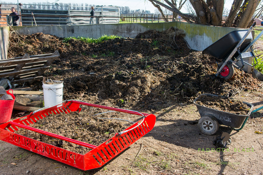 5 Reasons To Swap Your Paddock Cleaning Wheelbarrow For The Paddock Blade