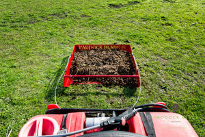 paddock cleaner birds eye view