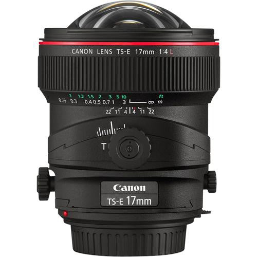 Canon TS-E 17mm f/4L Tilt-Shift Lens