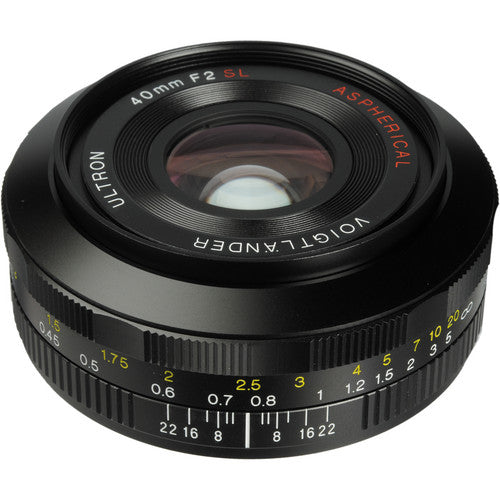 (Clearance) Voigtlander Ultron 40mm f/2 SL II Aspherical Lens for Canon