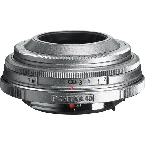 (Clearance) Pentax SMC-DA 40mm f/2.8 Limited Lens (Silver)