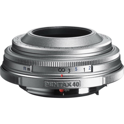 (Clearance) Pentax SMC-DA 40mm f/2.8 Limited Series Lens (Silver)