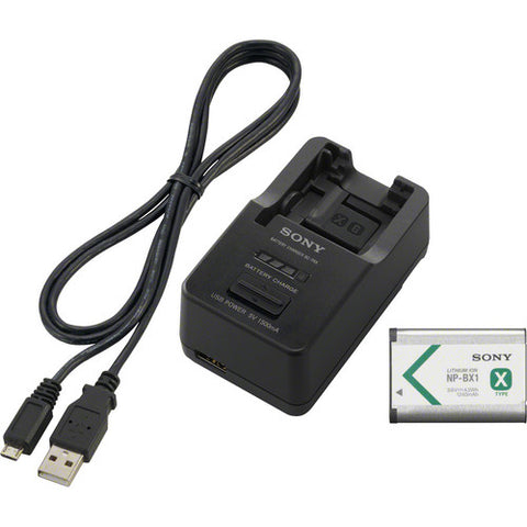Sony ACC-TRBX Battery and Charger Kit with NP-BX1 Battery