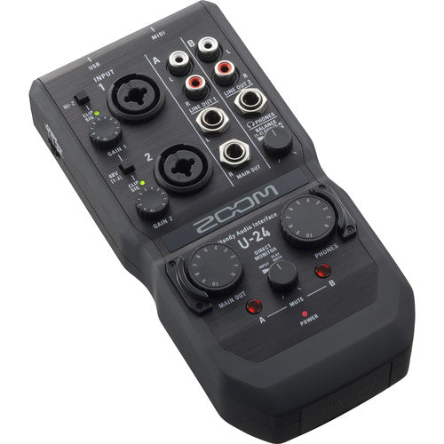 Zoom U-24 Portable Audio Interface