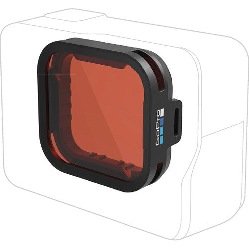 (Clearance) GoPro AACDR-001 Red Snorkel Filter for HERO6 Black & HERO5 Black