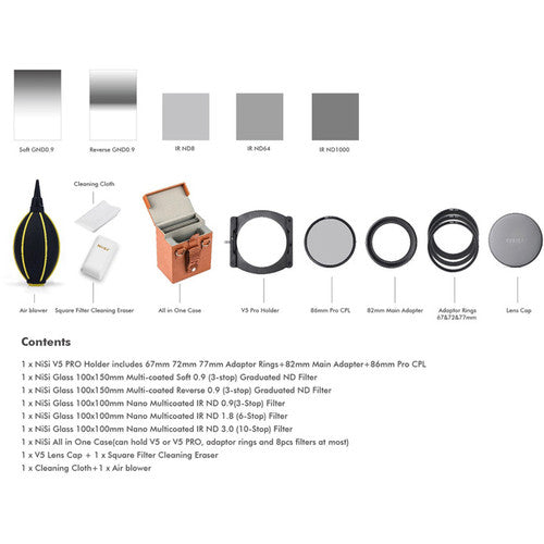 NiSi V5 Pro Advanced Filter Kit