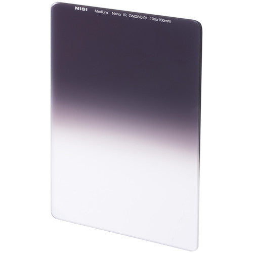 NiSi 100 x 150mm Nano Medium-Edge Graduated IRND Filter (ND4/ ND8/ ND16)