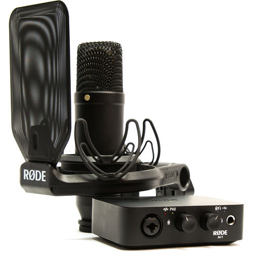 Rode NT-1 + Ai-1 Complete Studio Kit with Audio Interface