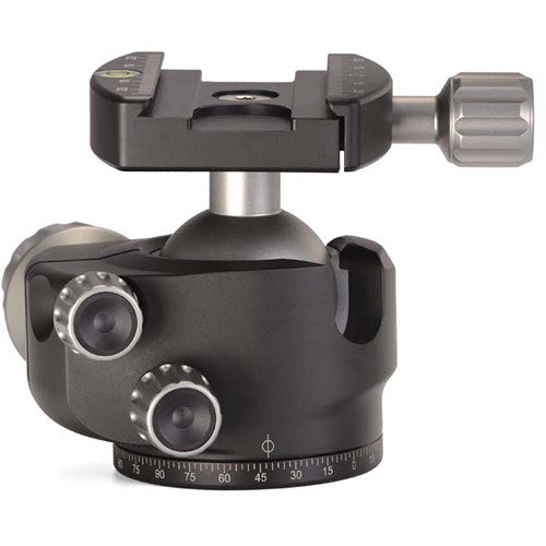 Leofoto LH-40 Low Profile Ball Head with Quick Release Plate