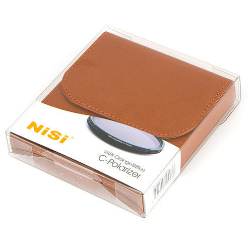 NiSi VARI Orange & Blue Polarizer Filter (67mm-82mm)