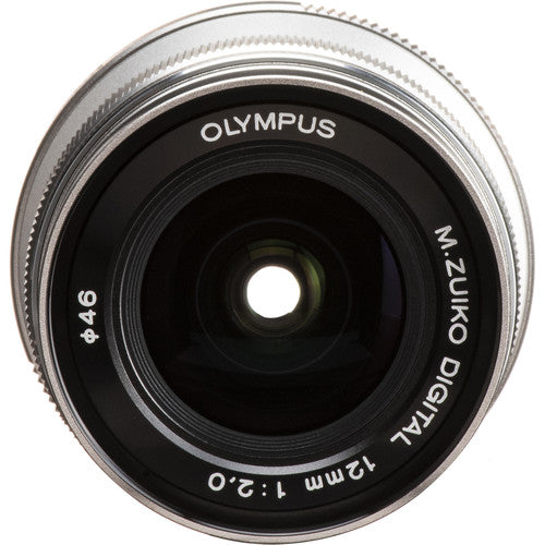Olympus M.Zuiko Digital ED 12mm f/2 Lens