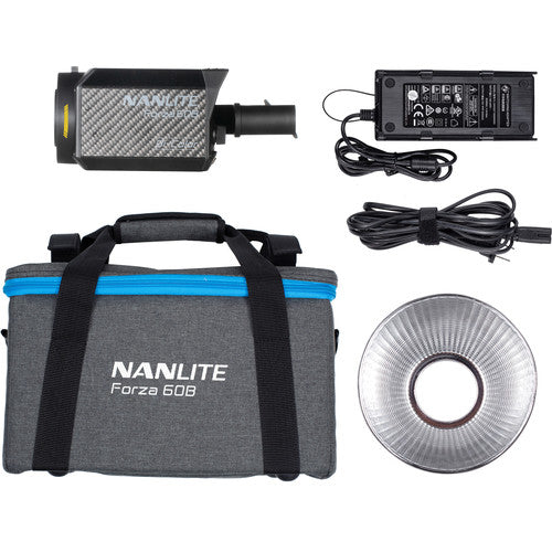 (Chinese New Year Promotion) Nanlite Forza 60B Bi-Color LED Monolight Combo Kit