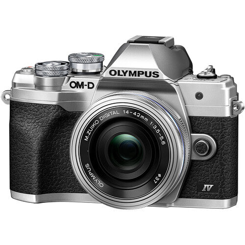 Olympus OM-D E-M10 Mark IV Mirrorless Digital Camera