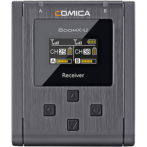 Comica Audio BoomX-U U1 Compact Wireless Microphone System for Mirrorless/DSLR Cameras