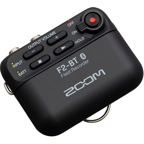 Zoom F2-BT Ultracompact Bluetooth-Enabled Portable Field Recorder with Lavalier Microphone