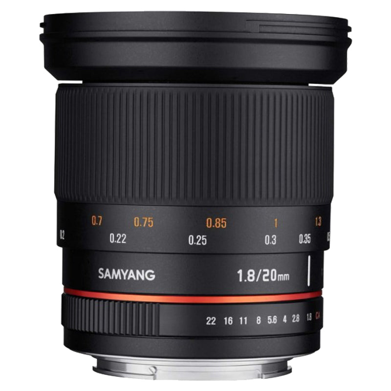 Samyang 20mm F1.8 ED AS UMC Lens