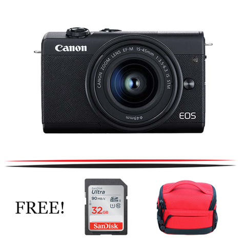 Canon EOS M200 Mirrorless Digital Camera