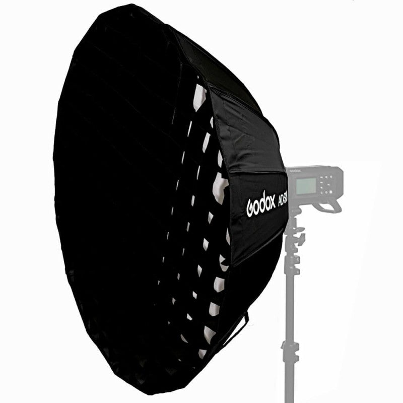 Godox AD-S65W 65cm Parabolic Deep Softbox Hexadecagon Quick Collapsible Umbrella Softbox for Godox AD400Pro