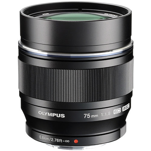 Olympus M.Zuiko Digital ED 75mm f/1.8 Lens