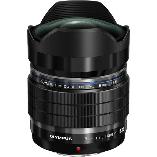 Olympus M.Zuiko Digital ED 8mm f/1.8 Fisheye PRO Lens