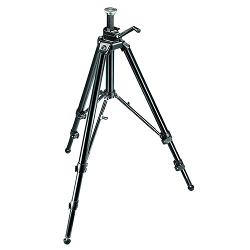 Manfrotto 475B Black Aluminum Black Pro Geared Tripod