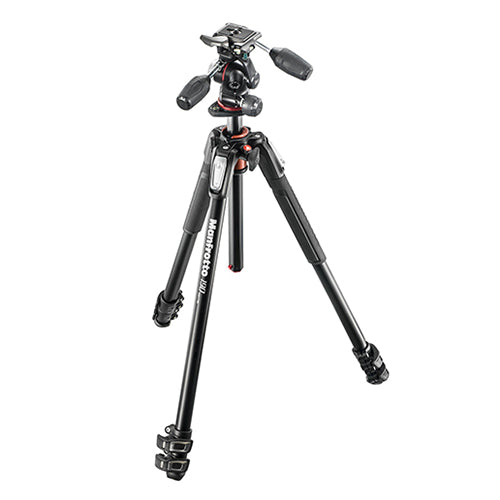 Manfrotto MK190XPRO3-3W Aluminium 3-Section Tripod With Head