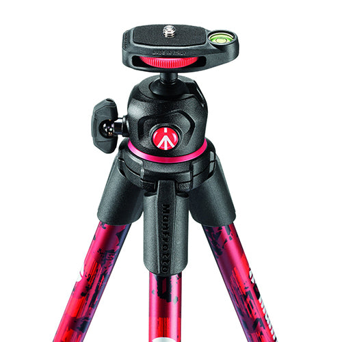 Manfrotto MKOFFROADR Red Off Road Ultra-Lightweight Tripod w/ Ball Head