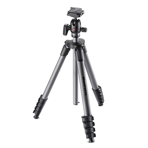 Manfrotto MKCOMPACTADVBH Compact Advanced Aluminium Tripod With Ball Head