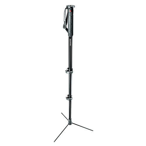 Manfrotto MMXPROA3B XPRO 3-Section Photo Monopod Aluminum