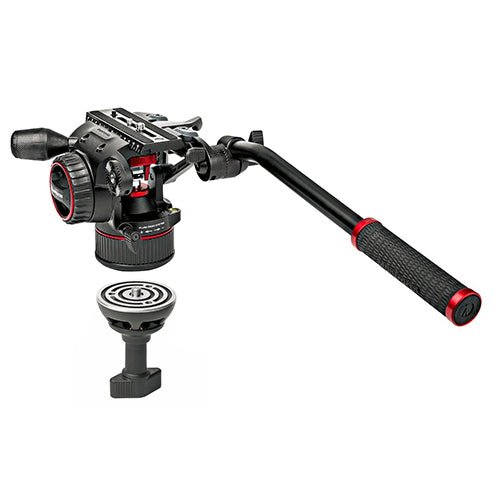 Manfrotto MVKN8C Nitrotech N8 Video Head w/ CF Single Legs Tripod