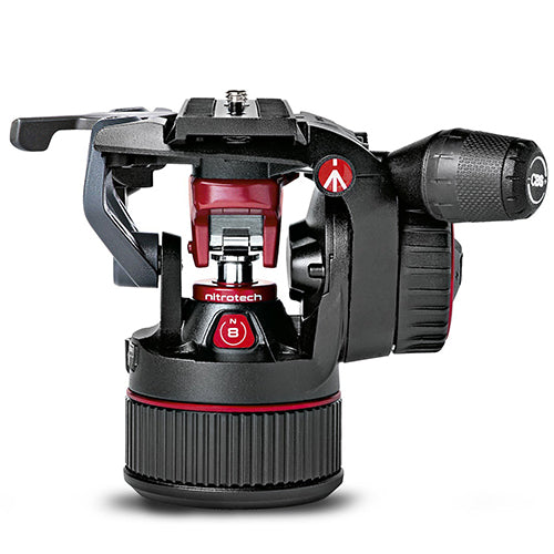 Manfrotto MVHN8AH Nitrotech N8 Fluid Video Head With Continuous CBS