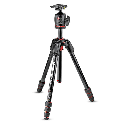 Manfrotto MK190GOC4-BHX MS Carbon Tripod kit 4-Section With XPRO Ball Head