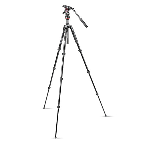 Manfrotto MVKBFRT-LIVE Befree live Aluminium Tripod Twist With Video Head
