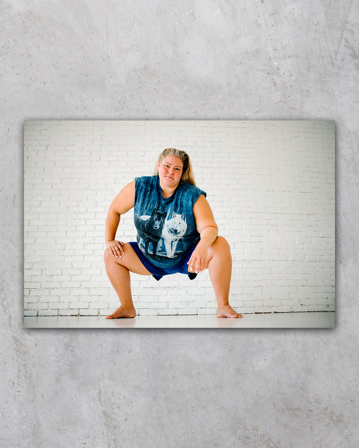 Classic Tammy Squat Poster