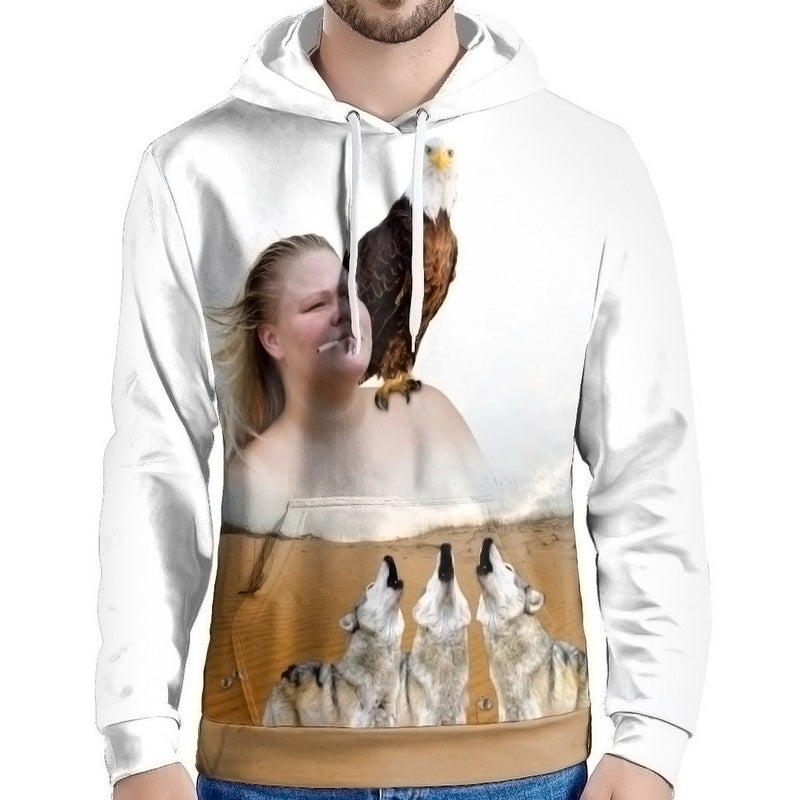 Majestic AF All Over Hoodie