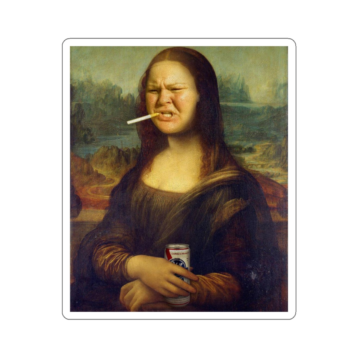 Mona Tammy Sticker