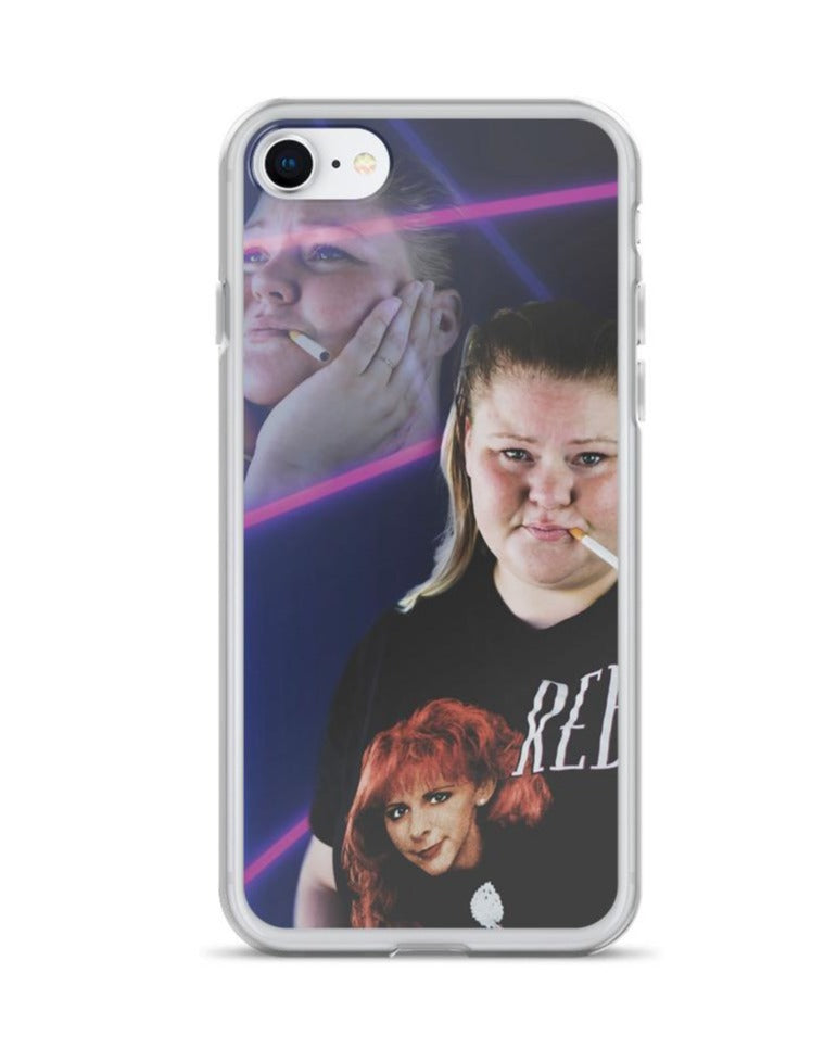 Trailer Trash Tammy Dreamy Tammy iPhone case in iPhone 7/8
