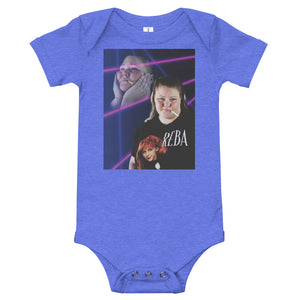Dreamy Tammy trailer trash tammy onesie in blue