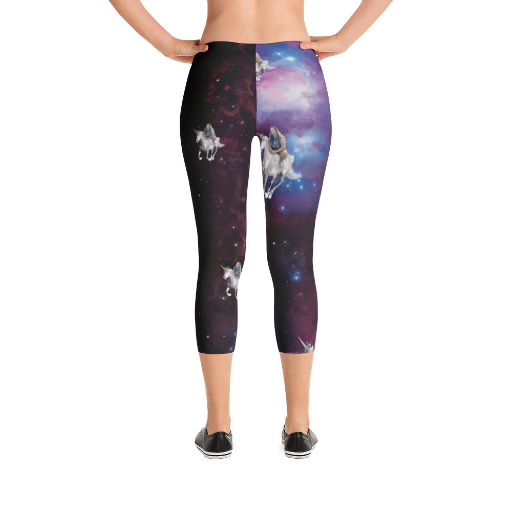 Space Unicorn Leggings