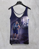 Tammy Wolf All Over Unisex Tank