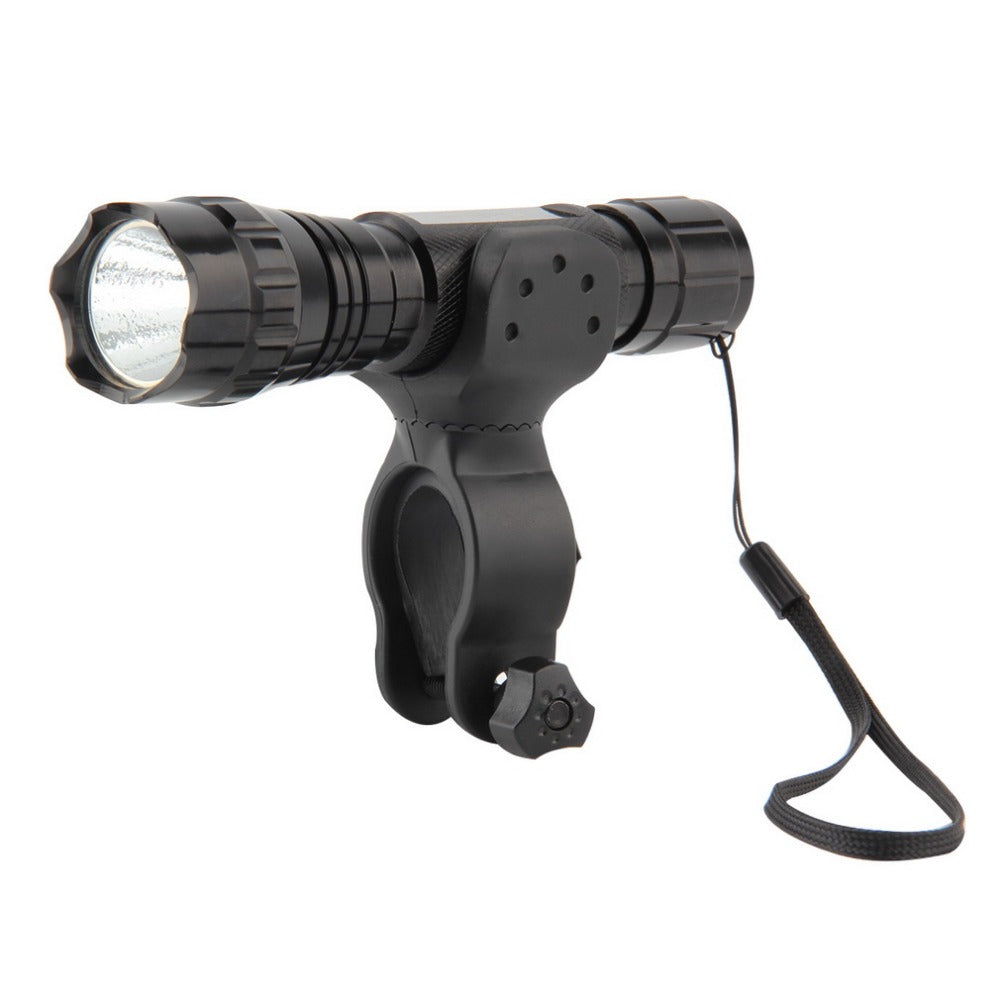 XML-T6 LED 2000LM Tactical Flashlight Torch bike Light With Mount Remote Switch for outdoor camping,