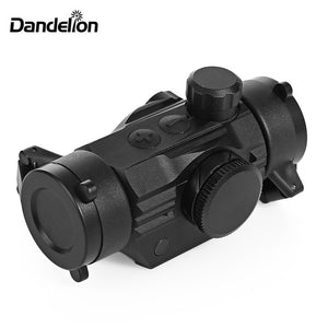 1x22 Dandelion Hunting Optics High Accuracy Tactical Scope Red Dot Illuminated Sight Riflescope for 20mm Weaver Picatinny