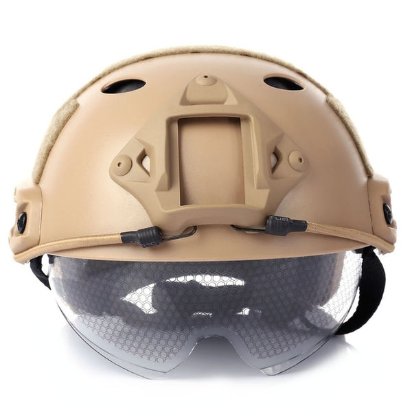 Outlife Military Crashworthy Protective Tactical Helmet for CS Airsoft Paintball Game 3 Colors